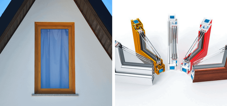 uPVC Coloured Frames